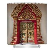 Wat Liab Ubosot Center Door Dthu349 Shower Curtain