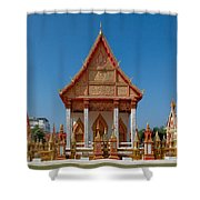 Wat Liab Ubosot Dthu035 Shower Curtain