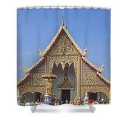 Wat Phra Singh Phra Wihan Luang Gable Dthcm0238 Shower Curtain