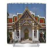 Wat Phrasri Mahathat Ubosot Dthb1464 Shower Curtain