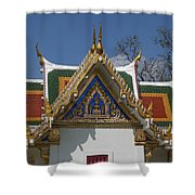 Wat Phrasri Mahathat Ubosot North Wing Gable Dthb1469 Shower Curtain