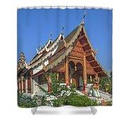 Wat Phuak Hong Phra Wihan Dthcm0582 Shower Curtain