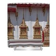 Wat Suwan Khiri Khet Ubosot Windows Dthp273 Shower Curtain