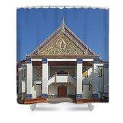 Wat Thewasunthon Preaching Hall Or Sala Kan Prien Dthb1422 Shower Curtain