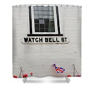 Watch Bell Street Rye Shower Curtain
