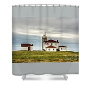Watch Hill Lighthouse Shower Curtain
