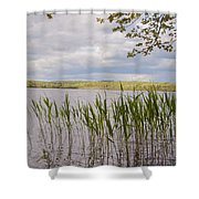 Watchaug Pond Shower Curtain