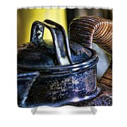 Watched Pot Shower Curtain