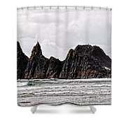 Watchful Eye Of Seal Rock Shower Curtain