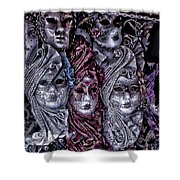 Watching You Venice Italy Shower Curtain