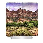 Watchman Trail - Zion Shower Curtain