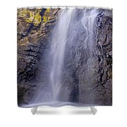 Watefall At The Mountains Shower Curtain
