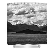 Water---snow---clouds 2 Shower Curtain