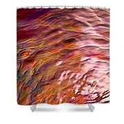 Water Abstract Shower Curtain