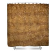 Water And Sand Background Shower Curtain