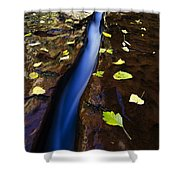 Water And Stone Shower Curtain