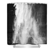 Water As It Falls Shower Curtain