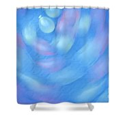 Water Balloons Spinning Shower Curtain