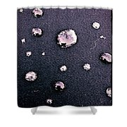 Water Bubble Relections Shower Curtain