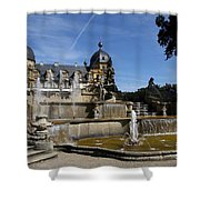 Water Cascade Palace Seehof Shower Curtain