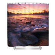 Water Claw Shower Curtain