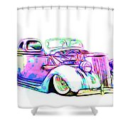 Water Colors 36 Ford Shower Curtain