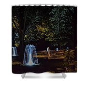 Water Dance Ll Shower Curtain