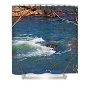 Water Detail 03 Shower Curtain