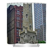Water District Building 1044 Shower Curtain