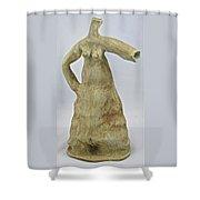 Water Dress Shower Curtain