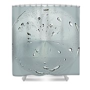 Water Drop Splash Shower Curtain