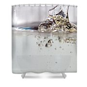 Water Drops Abstract6 Shower Curtain