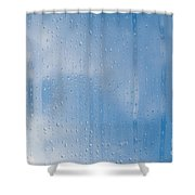 Abstract Of Condensation And Vapor Shower Curtain