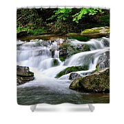 Water Fall 2 Shower Curtain