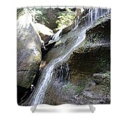 Water Fall In Hocking Hills Shower Curtain