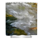 Water - Flow Of Life 1 Shower Curtain