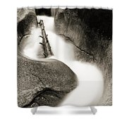 Water Flume  Shower Curtain