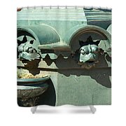 Water Fountain Colorado Shower Curtain