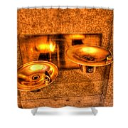 Water Fountains Shower Curtain