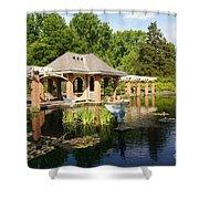 Water Garden Serenity Shower Curtain