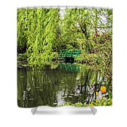 Water Garden Wonder Shower Curtain