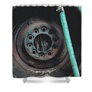 Water Hose Rim 2 Shower Curtain
