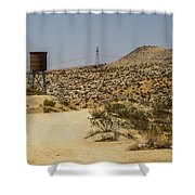 Water In The Desert Shower Curtain