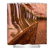 Water Is Life - Coyote Gulch - Utah Shower Curtain