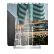 Water Jet Shower Curtain
