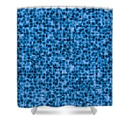 Water Labyrinth Shower Curtain