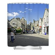Water Lane - Bakewell Shower Curtain