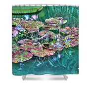 Flower 12 Shower Curtain