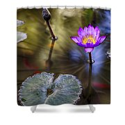 Water Lily 7 Shower Curtain