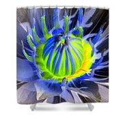 Water Lily - The Awakening - Photopower 03 Shower Curtain